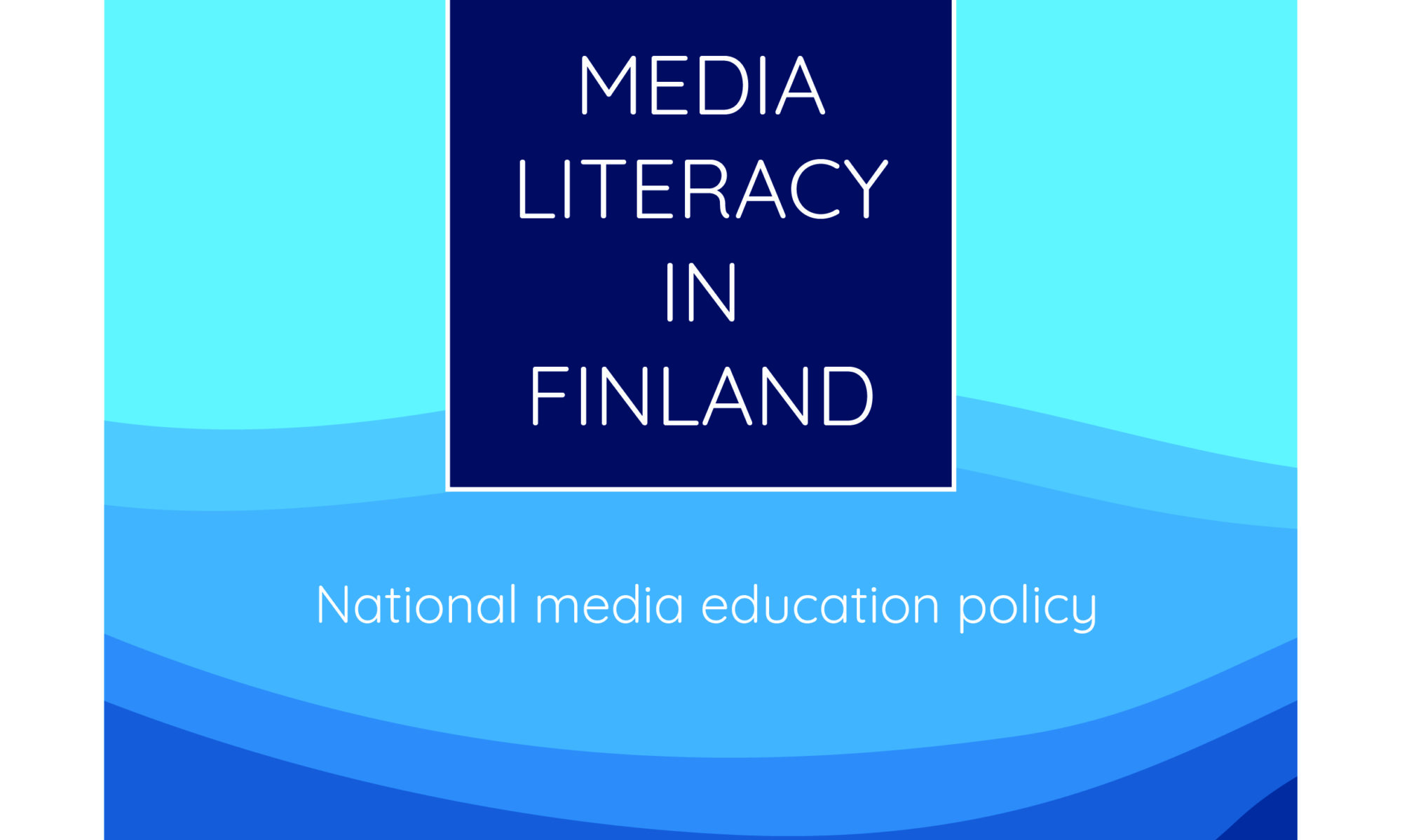 Cover of the national media literacy policy